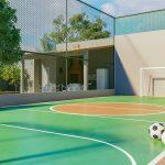 Quadra de esportes em Campos dos Goytacazes - Vista de Campos